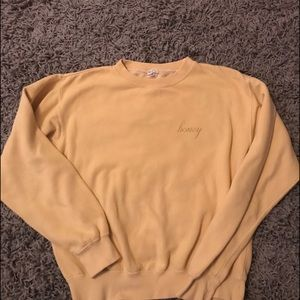 Brandy Melville Honey Sweater